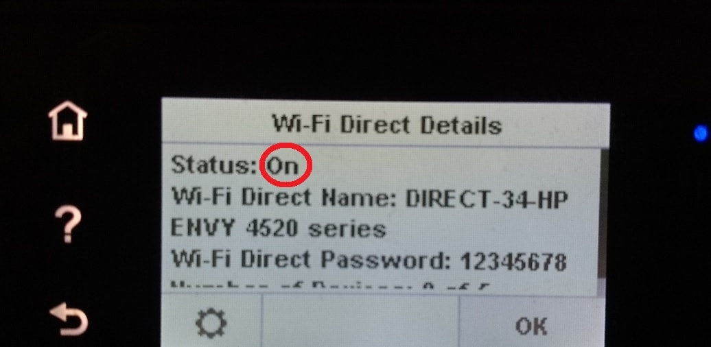 HP Envy 4520 wifi password | How to find, setup, configure