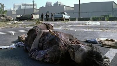 The Walking Dead: il primo dei due Zombie visti nella puntata