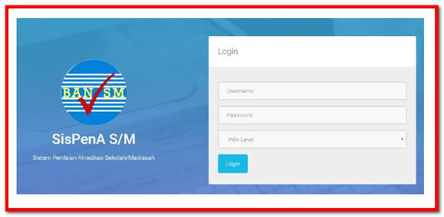 Download Panduan Aplikasi SisPenA (Sistem Penilaian Akreditasi Sekolah dan Madrasah.)
