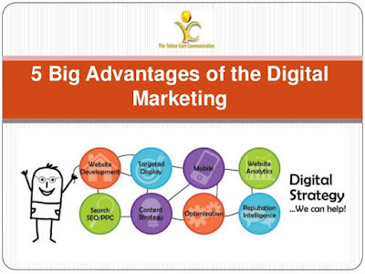 5 advantages of digital marketing