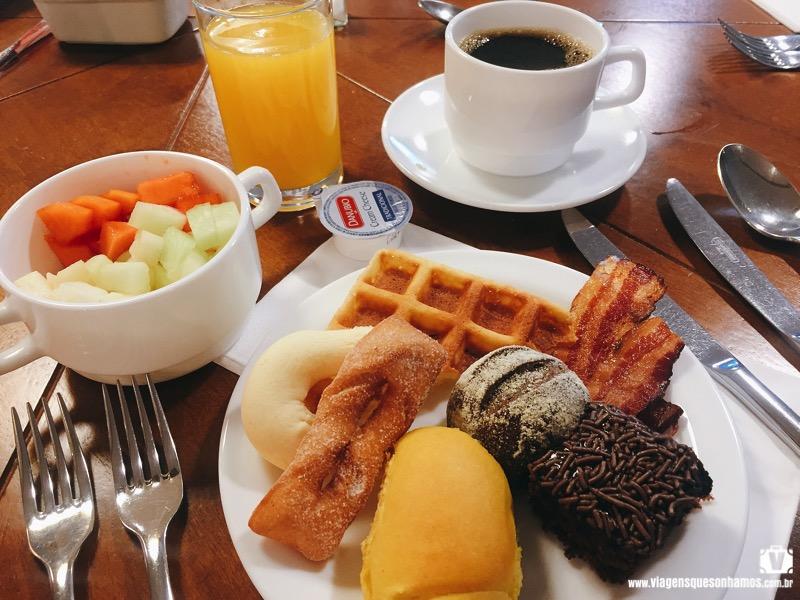 Café da manhã do Deville Prime Campo Grande