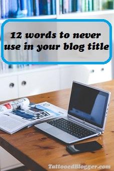 worst words    blog posts
