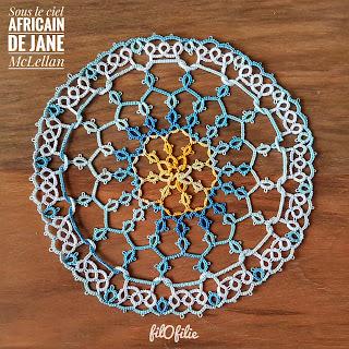 Sous le Ciel Africain de Jane McLellan / rang 1 à 6