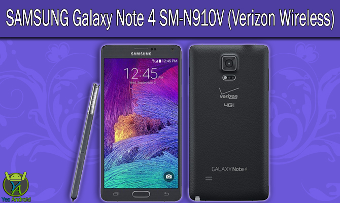 Download N910VVRU2CPG2 | Galaxy Note 4 (Verizon) SM-N910V