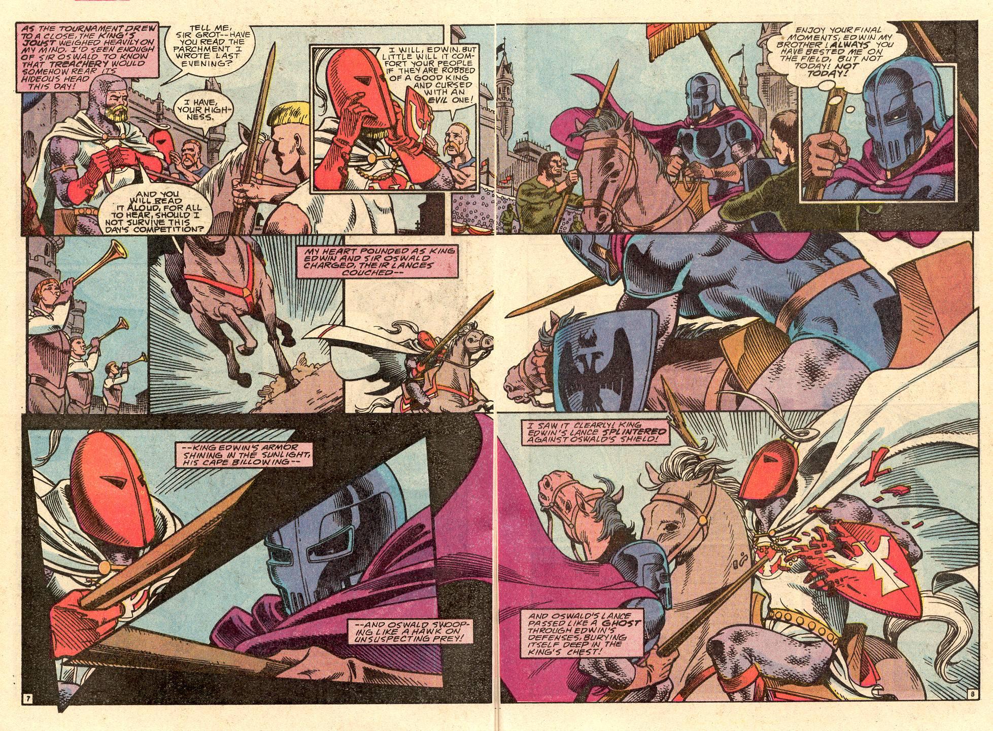 Read online Secret Origins (1986) comic -  Issue #49 - 29