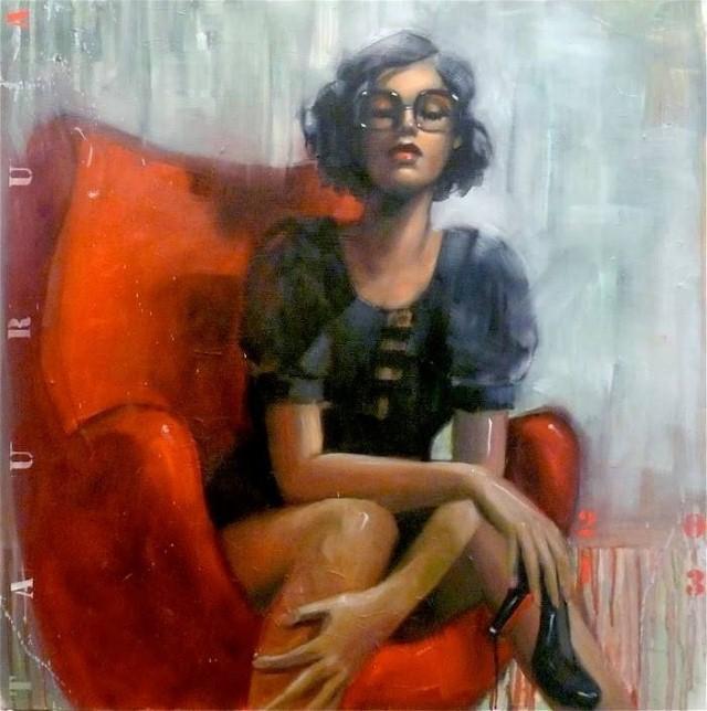 Я люблю рисовать женщин. Pascale Taurua