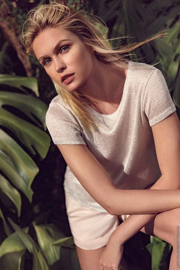 Moda primavera verano 2018 | Ropa de mujer, blusas, remeras y pantalones Zhoue colección primavera verano 2018.