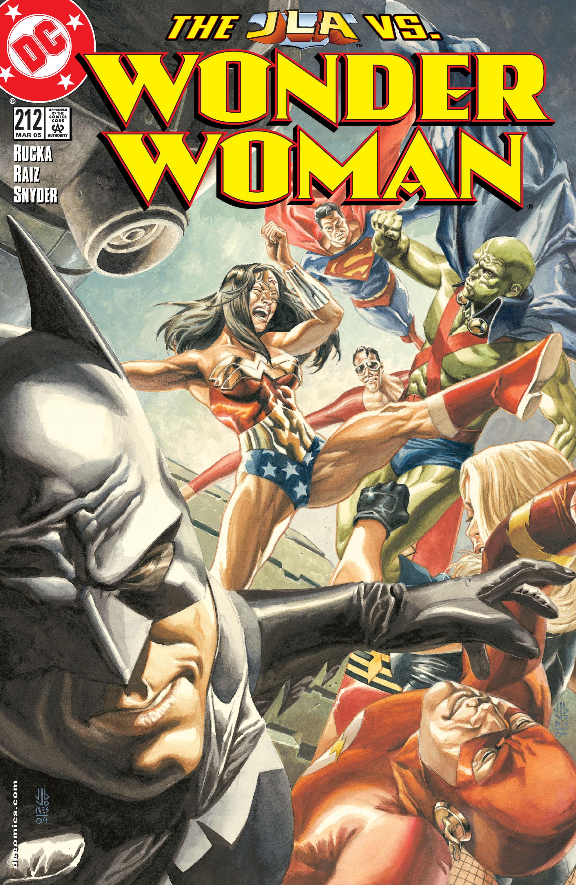 Read online Wonder Woman (1987) comic -  Issue #212 - 1