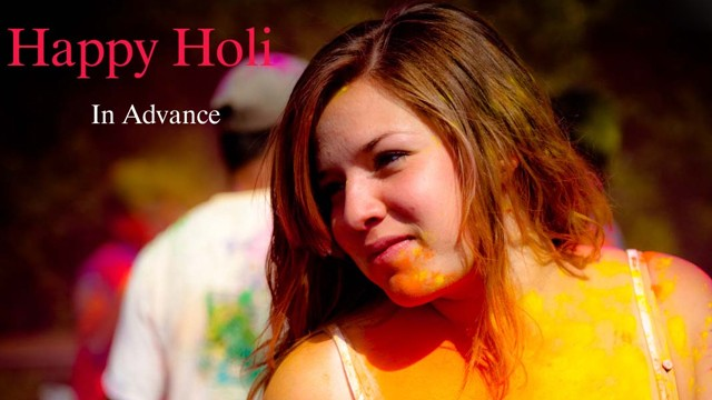 Advance Happy Holi Hot status