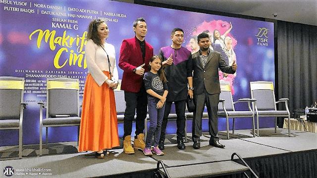 Trailer Filem Makrifat Cinta, IRDKL Mall Shah Alam,