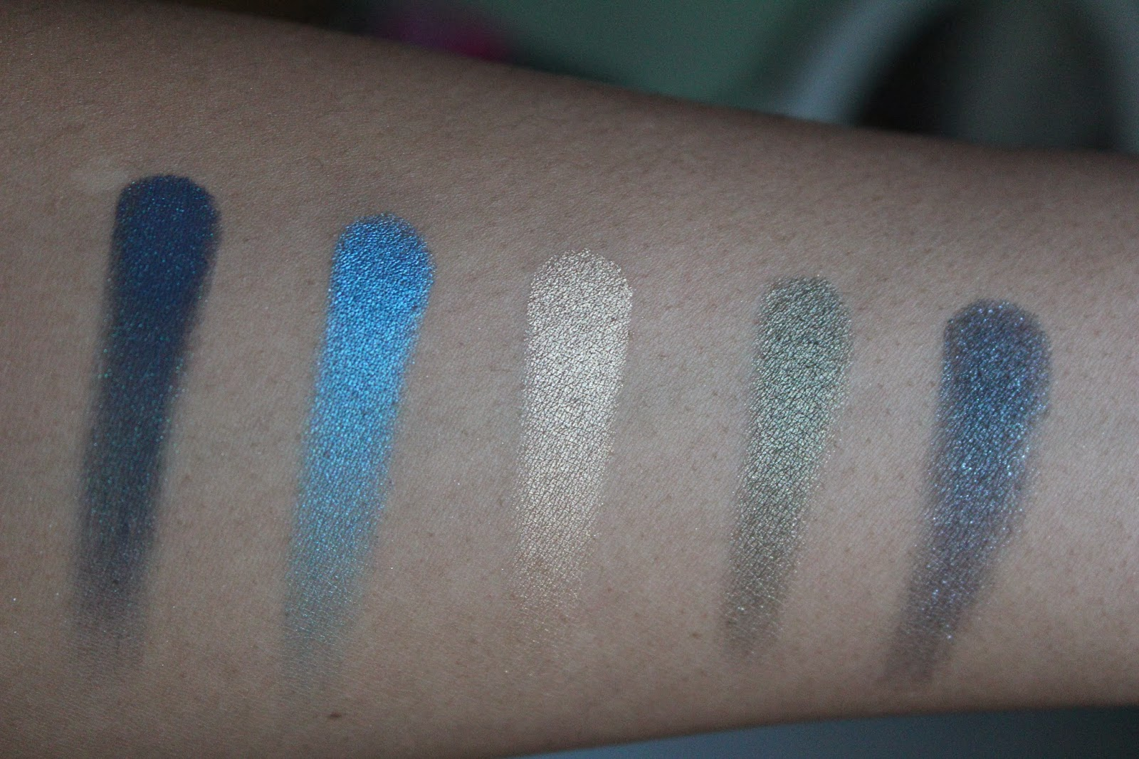 Urban Decay Vice 2 Swatches; Prank, Madness, Strike, Stash & Poison