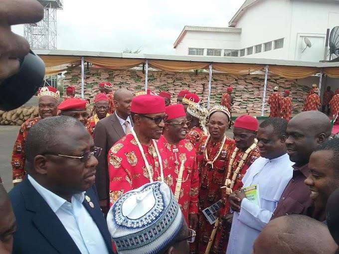 Council of Ebonyi Chiefs endorse Buhari and Umahi for 2nd term bid