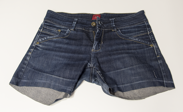 Jeans shortened DIY make shorts