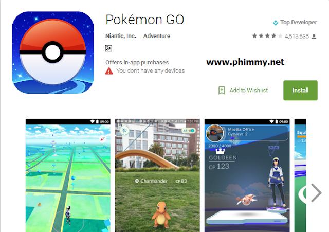 Cách cài dăt pokemon go tại bảo lộc
