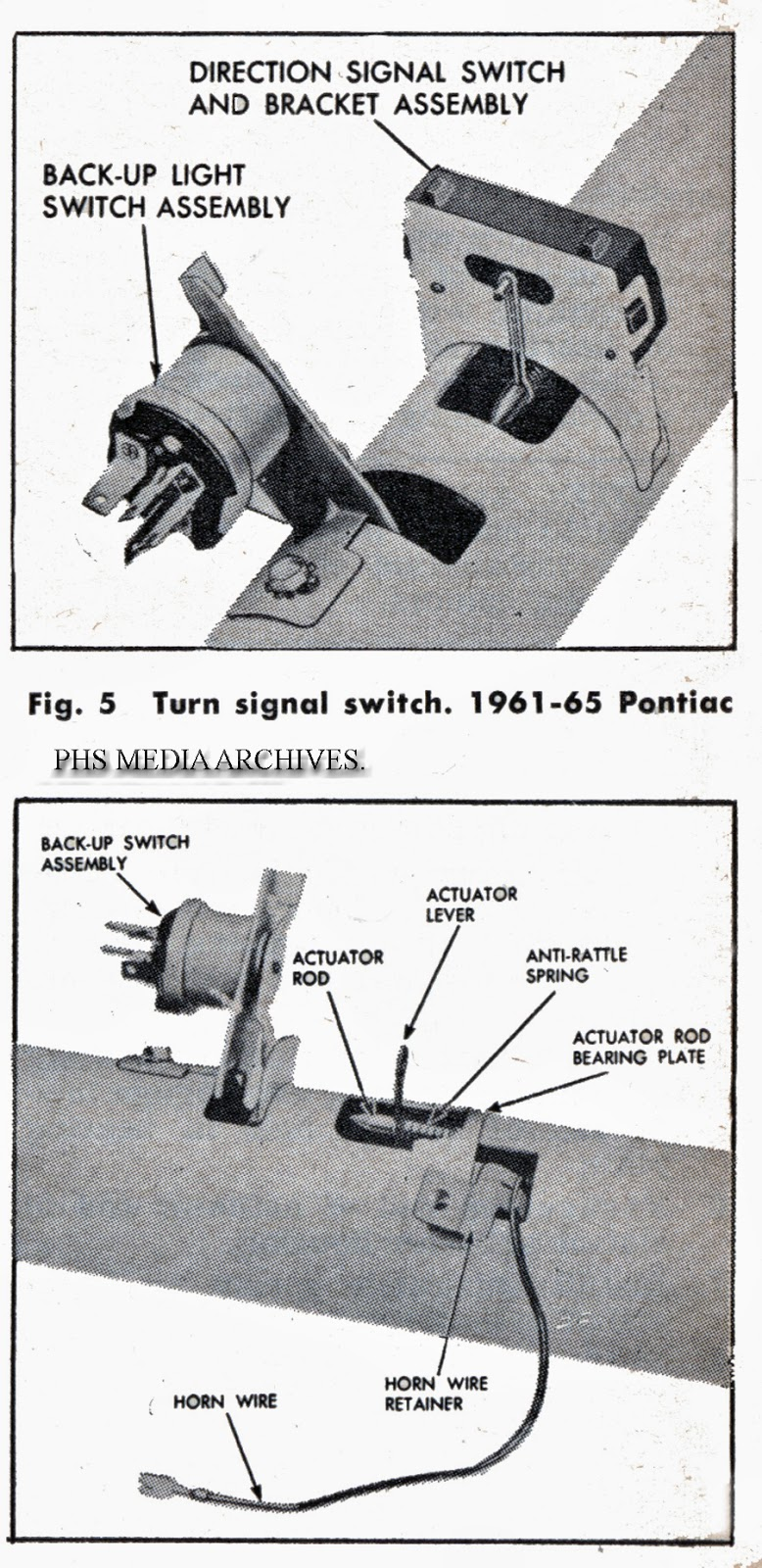 for 1961 65 the assembly is smaller but same basic design more work is required for alignment  [ 778 x 1600 Pixel ]