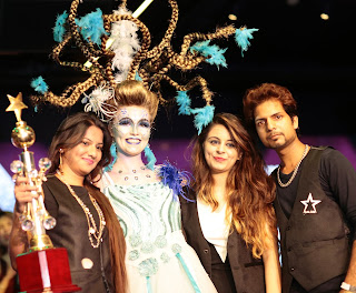 Preeti, Aastha and Amit Winners of Fantasy Makeover