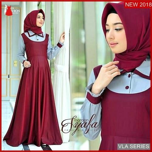 VLA022S89 Model Dress Syafa Bd Murah BMGShop
