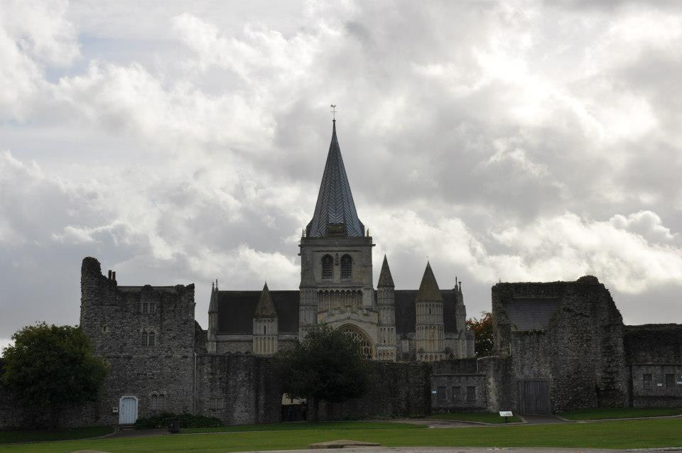 Rochester Cathedral, Kent, UK