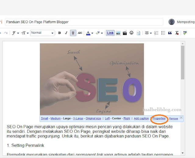SEO ON Page alt text image