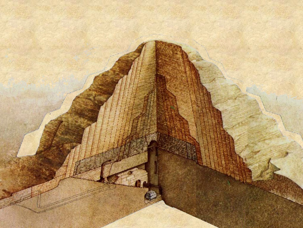 My Architectural Moleskine 174 The Pyramid And Complex Of