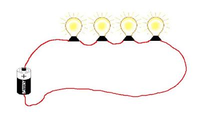 Cara Membuat Rangkaian Listrik Seri dan Paralel Lampu Sederhana