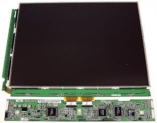 LCD rusak Bagian Panel