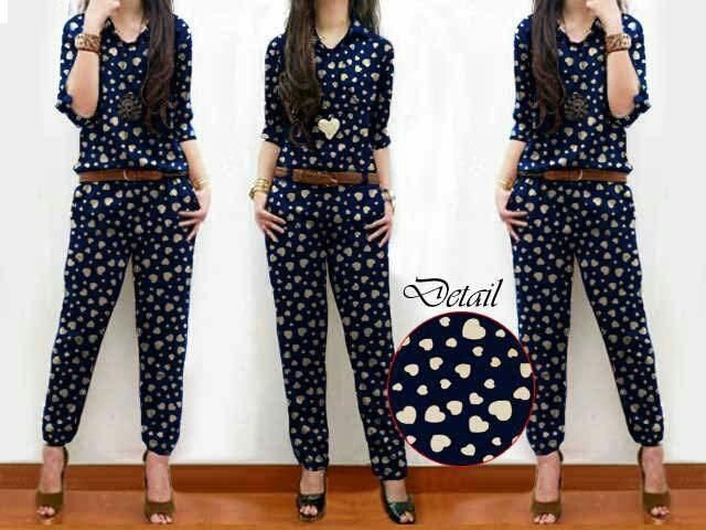 Jual Jumpsuit Jumpsuit Love - 12719