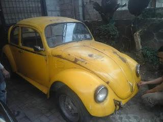 Dijual VW Kodok Kuning BumbleBee 1975