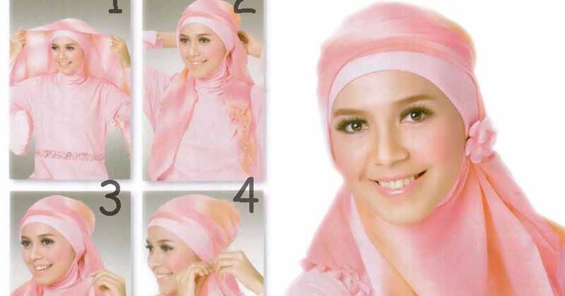 Tutorial Hijab modern 2013  Beautyid