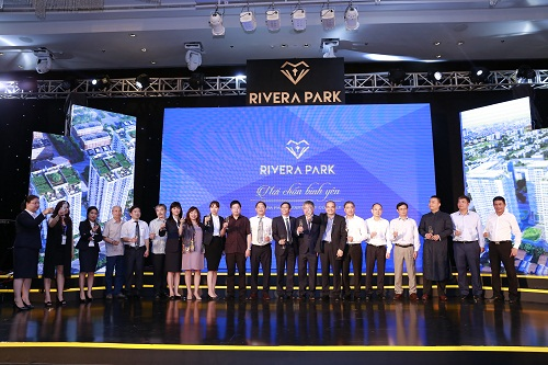 Sự kiện ra mắt thương hiệu và công bố hai dự án Rivera Park