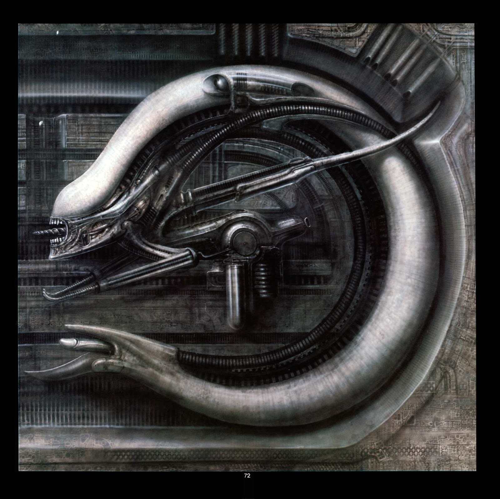 Read online Giger's Alien comic -  Issue # TPB - 74