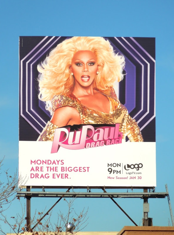 RuPauls Drag Race season 4 billboard