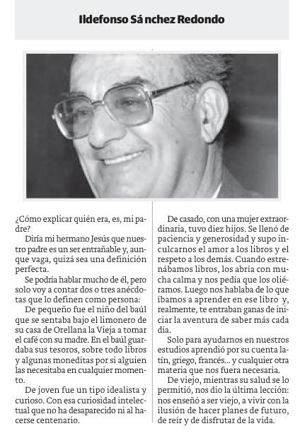 Ildefonso Sánchez Redondo