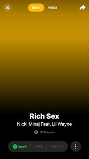 "Nicki Minaj May Have Previewed A Lil Wayne Collab Called ""Rich Sex"""