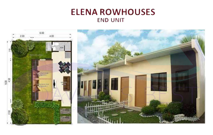 Elena Rowhouses End Unit Davao Best Property