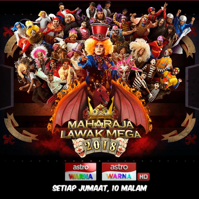 Peserta Maharaja Lawak Mega 2018