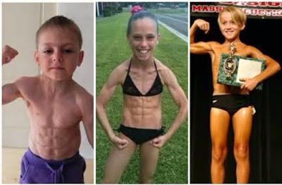 Bodybuilding kids, Little Hercules, News, Health, Six packs,