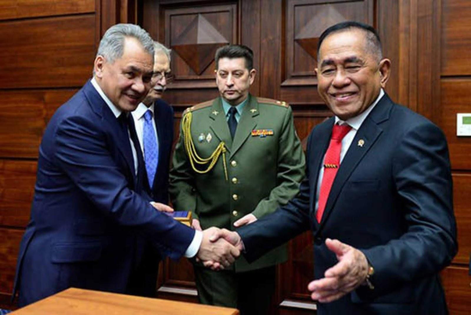 Rusia Partner Diplomatik Indonesia dalam Berbagai Bidang
