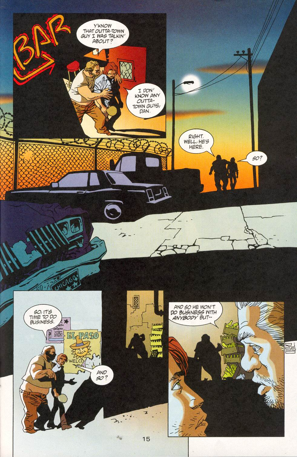 Read online 100 Bullets comic -  Issue #28 - 17