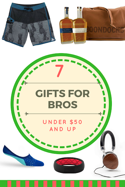 Gift Guide Ideas for Bros Under $50