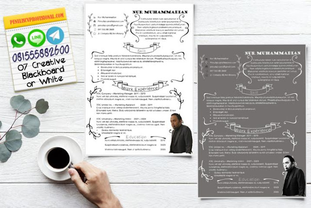 Desain CV Kreatif