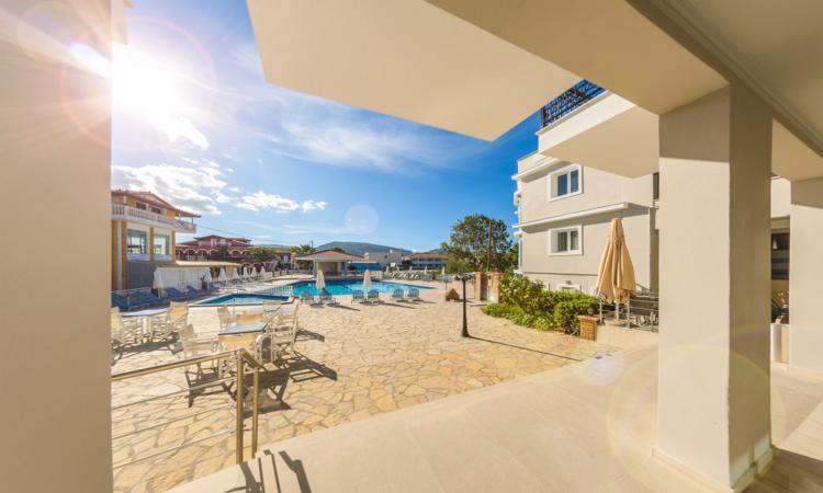 A 4 stars hotel in Laganas resort, Zakynthos Island