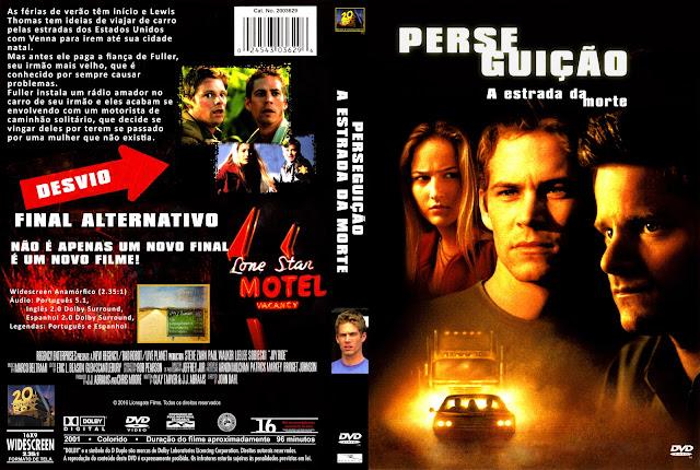 Capa DVD Perseguição A Estrada Da Morte [Exclusiva]