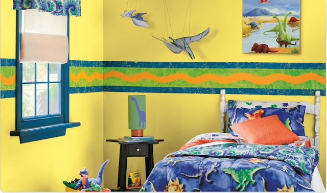 دهانات غرف اطفال باللون الرمالي الكافيه