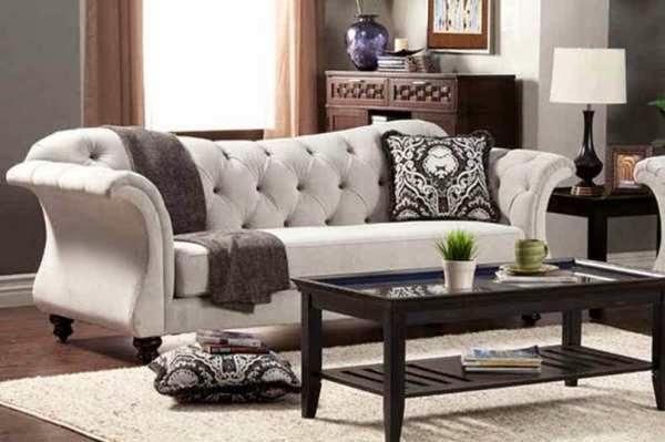 Gambar desain sofa minimalis masa kini yang nyaman