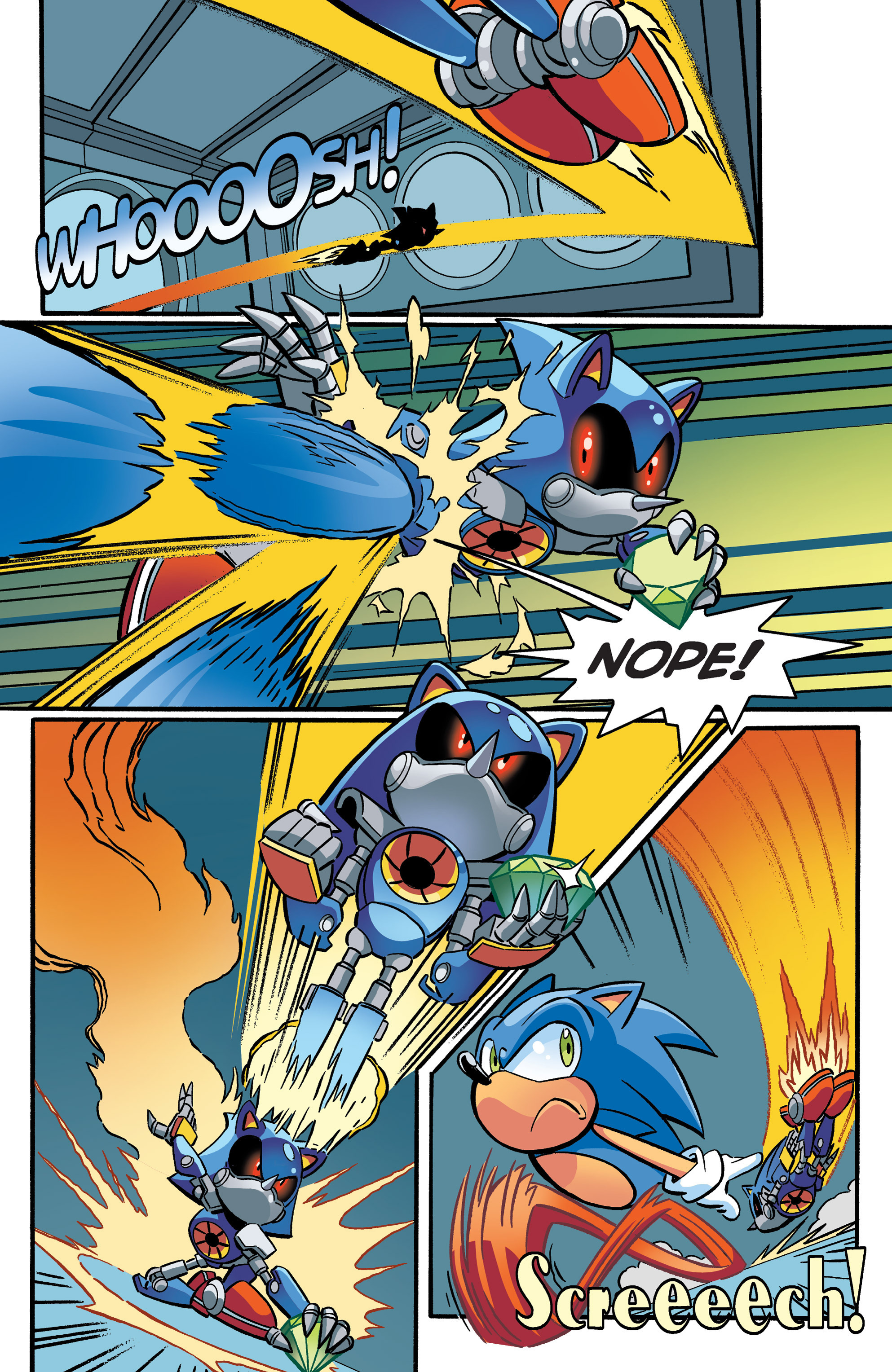 Read online Sonic The Hedgehog comic -  Issue #271 - 13