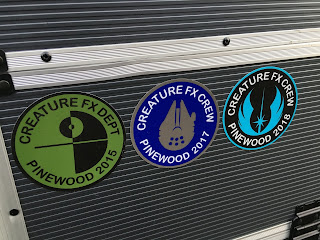 CFX Pinewood, stickers, Star Wars