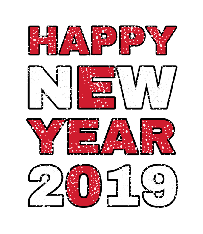 Best and Latest Happy New Year PNG 2019 for Photo Editing Free Download From Pickforedit