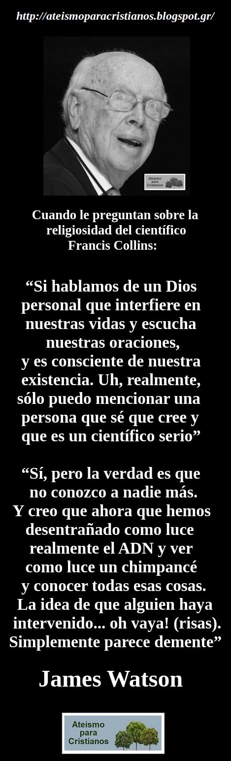 Ateismo Para Cristianos Frases Célebres Ateas James Watson