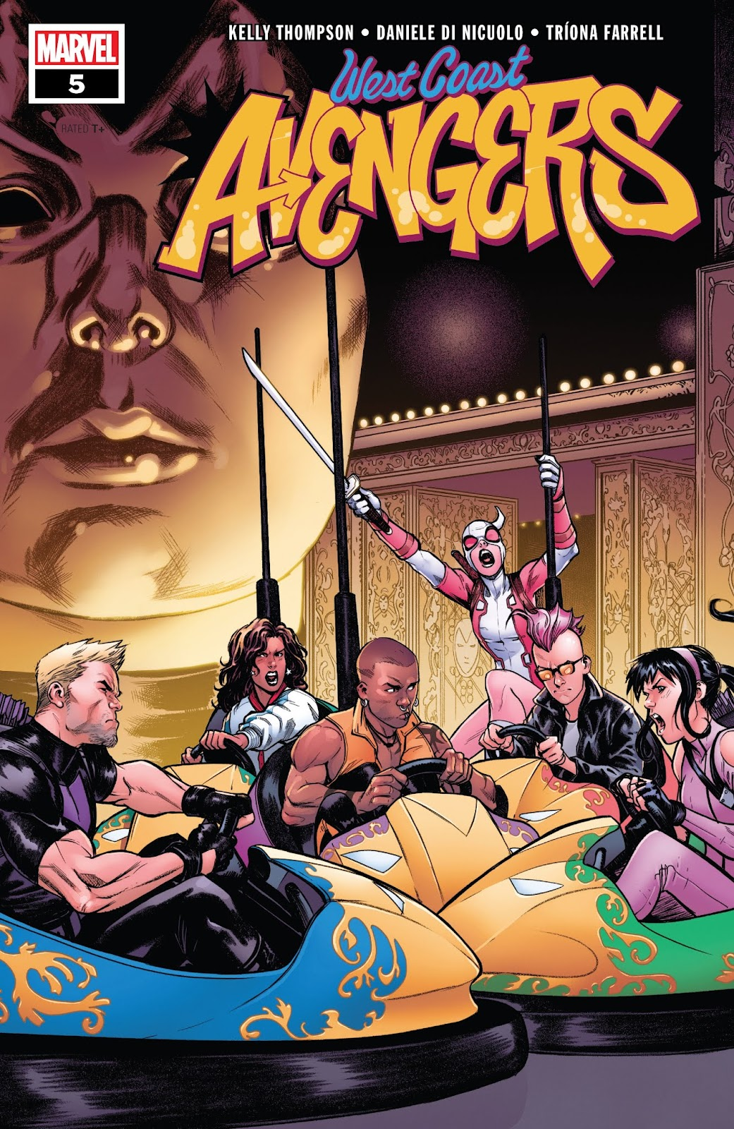 West Coast Avengers (2018)  5 Page 1